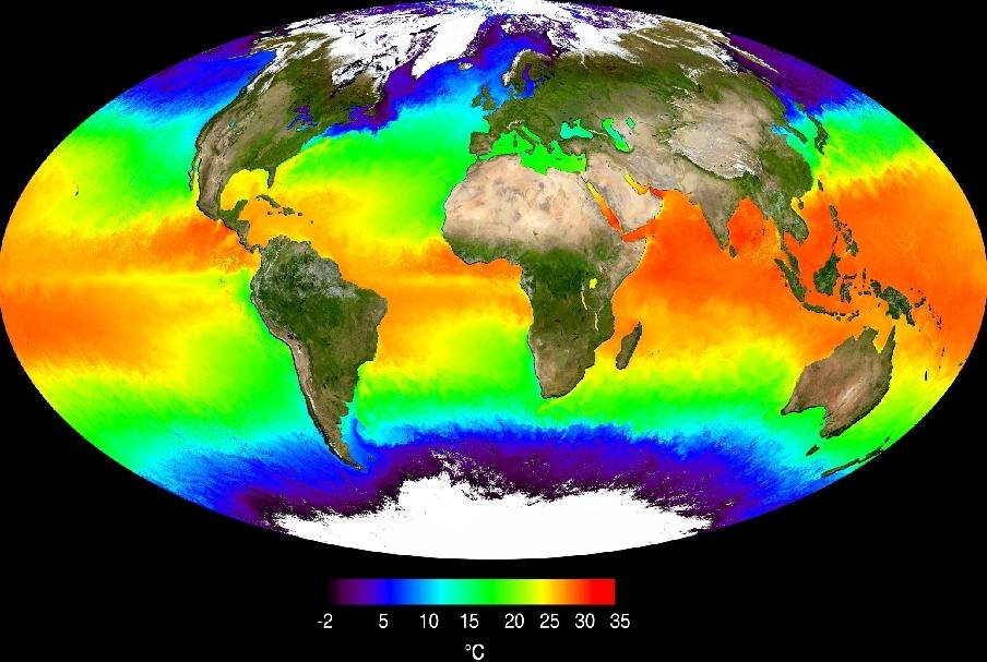 Температура и соленость Мирового океана
