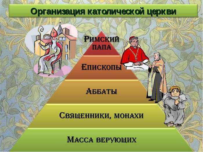 Христианская церковь в средневековье доклад 4070
