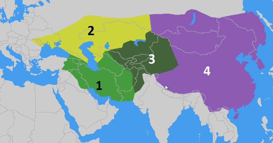 Монгольская империя. Русь и Золотая орда