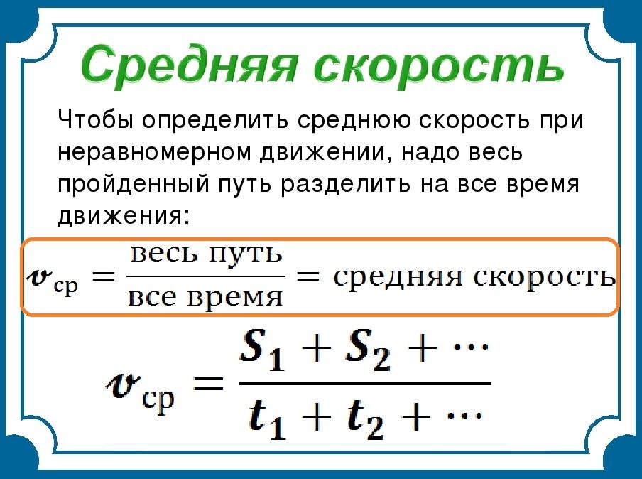 Решение задач на среднюю скорость 6 класс центральная предельная теорема задачи с решением