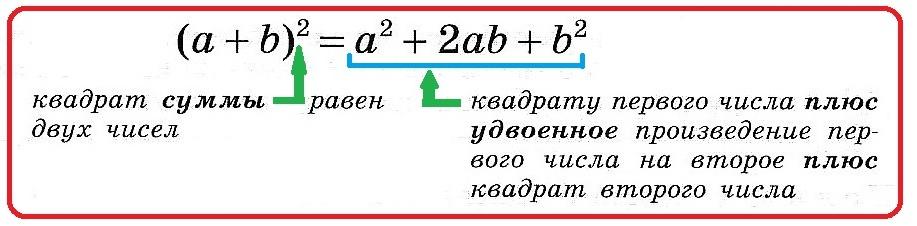 квадрат суммы 1