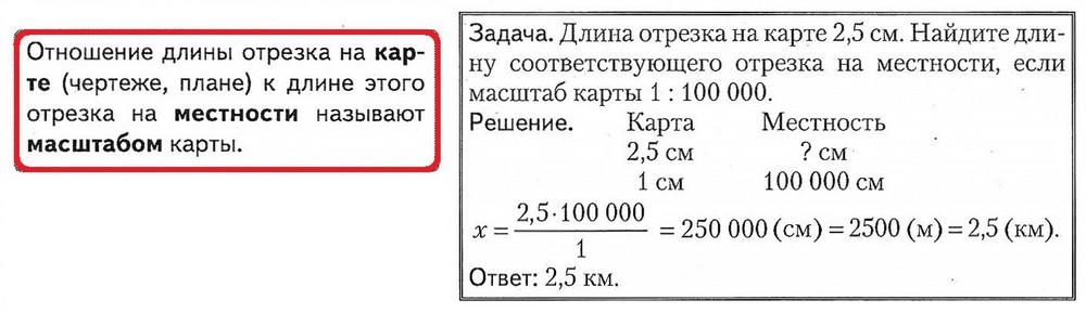 масштаб