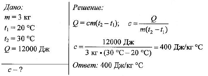 Задачи на кг и т с решением урок сила лоренца решение задач