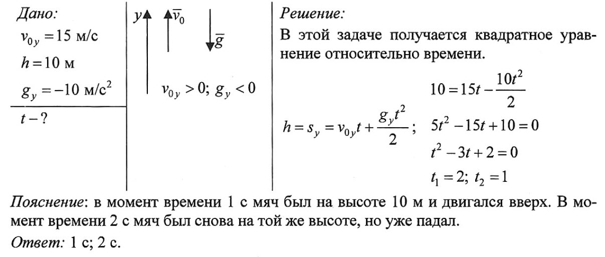 Решение задач по физике когда камень бросают пример решения задачи методом монте карло