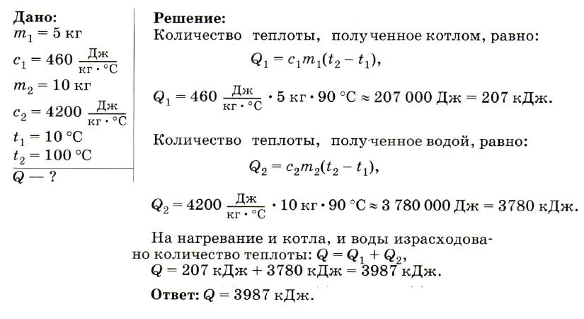 Задача на емкость и ее решение физика челябинск математик решил задачу