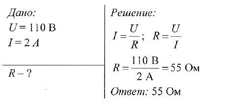 Электрическое сопротивление закон ома задачи и решение программа для решения задач по физике онлайн бесплатно