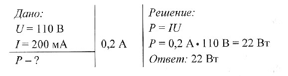 Задачи с решениями на определение мощности задача с решением по физике возникнет