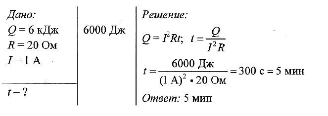 Задачи с решением на закон джоуля ленц задачи с решениями по нахождению объема цилиндра