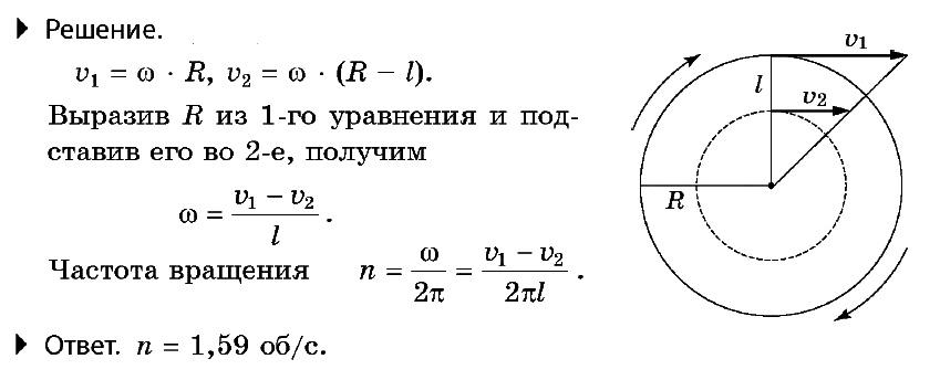 Решение задач по физике движение по окружности примеры решения задач 10 класс