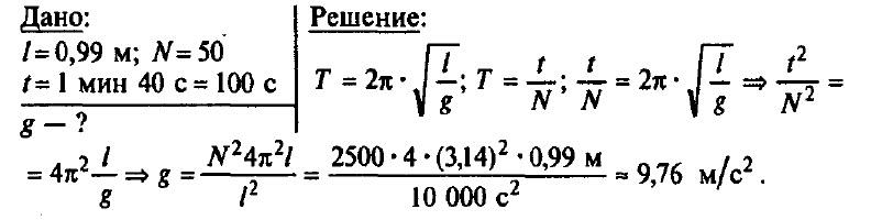 Решение задач пружинный и математический маятник математические методы решения химических задач козко