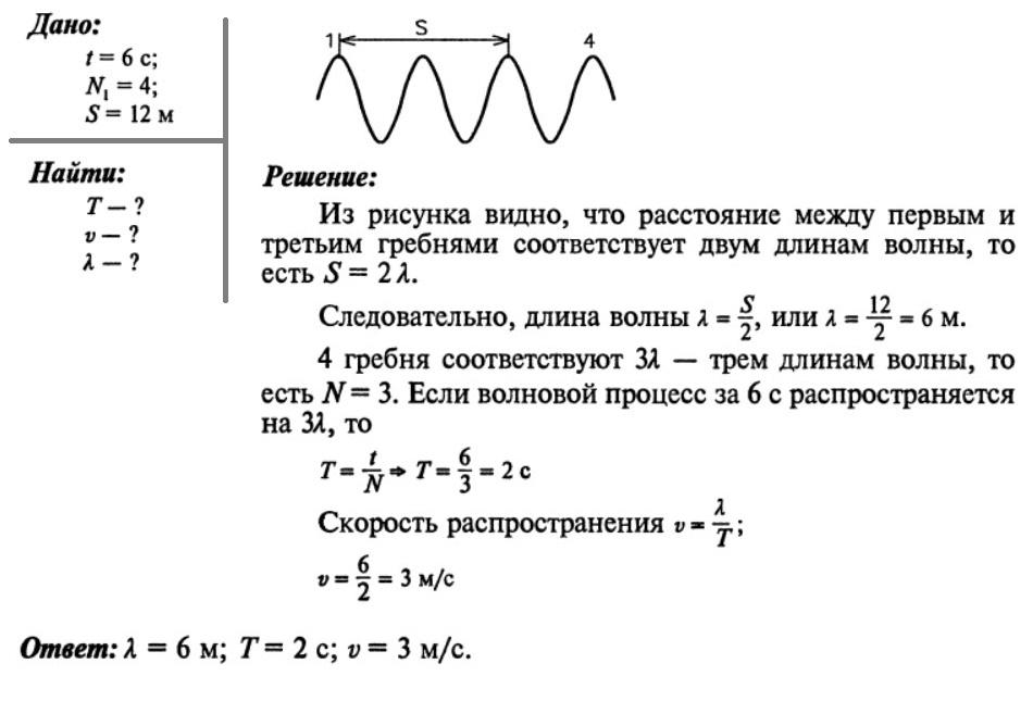 11 класс механические волны решение задач магнитные цепи решение задач
