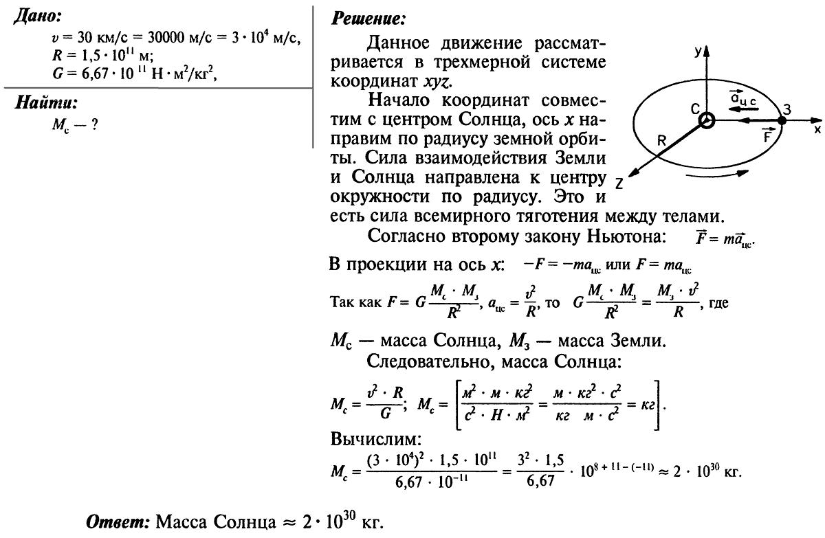 Решение задач по физике 2000 решение задачи коши для однородного дифференциального уравнения