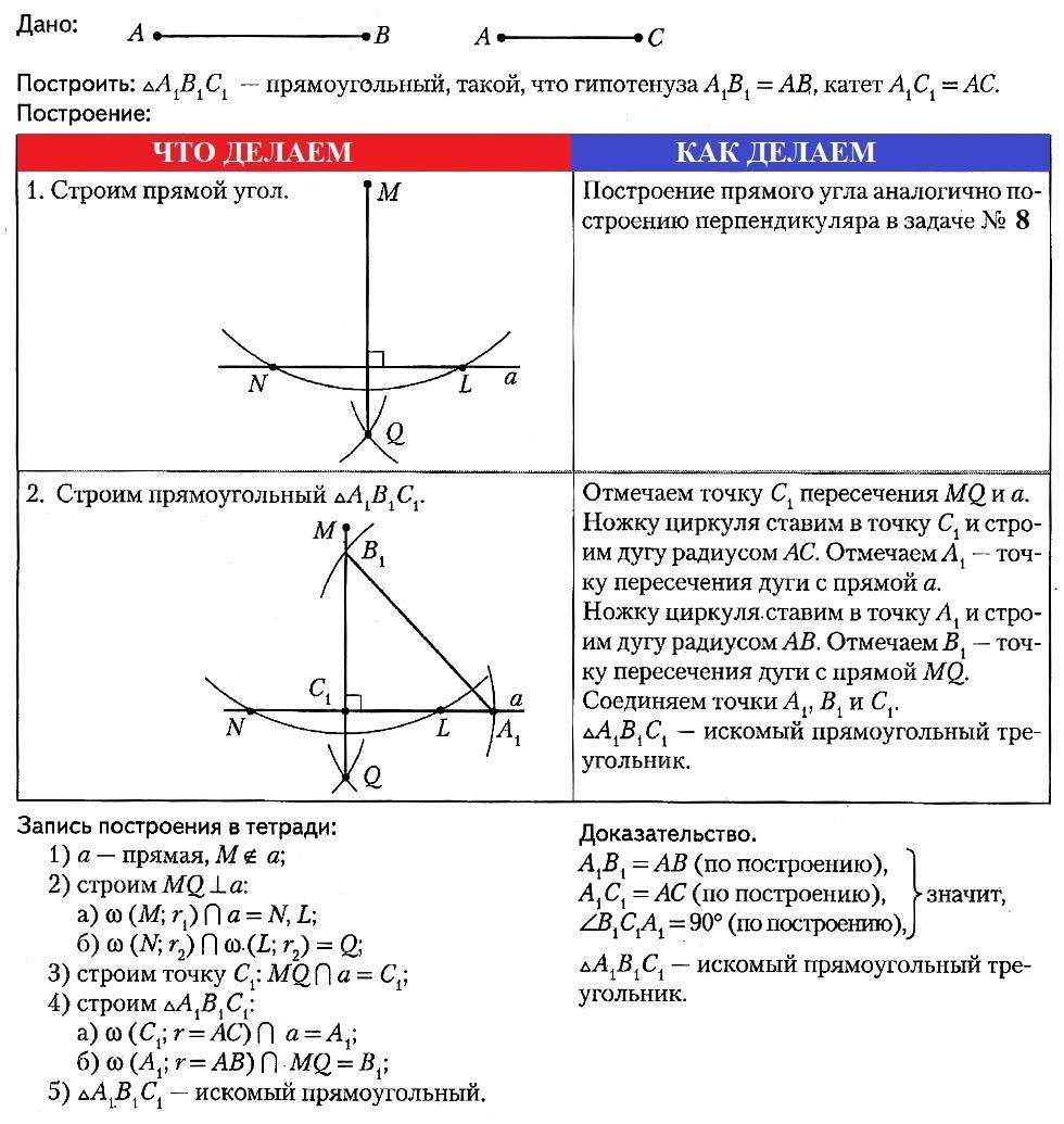 Решение задач по геометрии на построение задачи по налоговому контролю с решением
