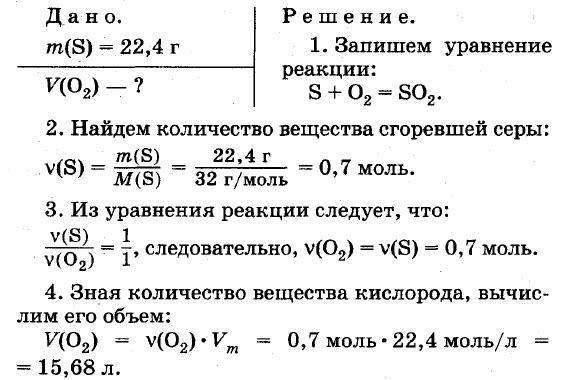 Химические уравнения 8 класс примеры решения задач решение задач с помощью уравнений по информатике