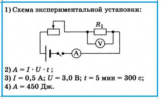 Задание 23 ОГЭ по физике. Вариант 4
