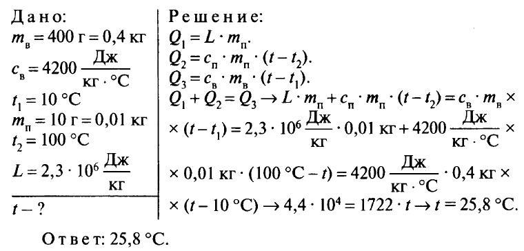 Изменение агрегатных состояний вещества решение задач решение олимпиадных задач по информатике на паскале