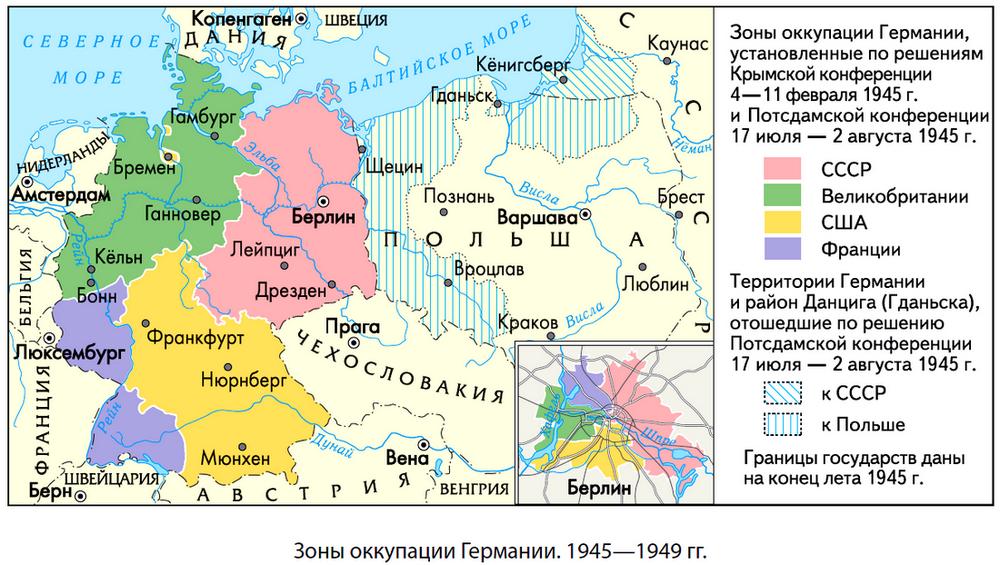 Германия во второй половине XX века